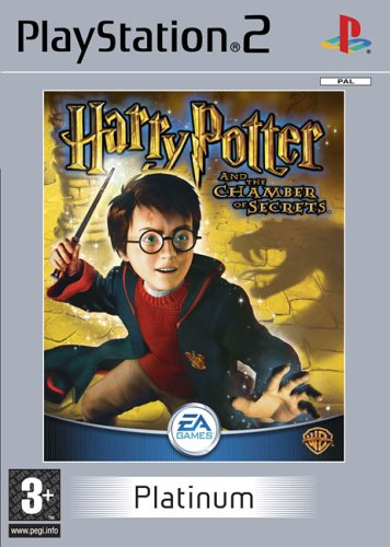 Click for larger image of Harry Potter And The Chamber Of Secrets Platinum (PS2)