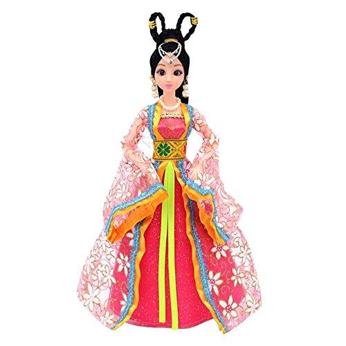 (Prinzessin / Göttin Spielzeug chinesischen alten Kostüm Menschen Puppen Mädchen Dressup-R)