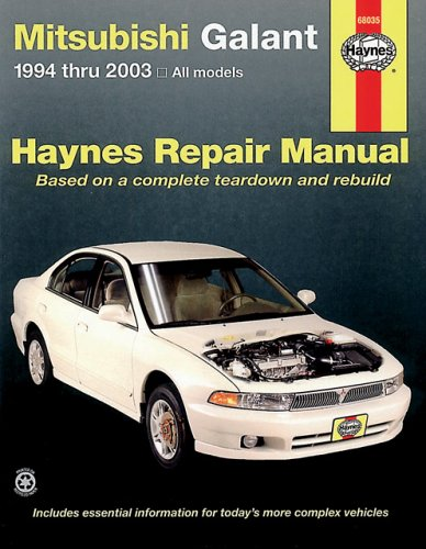 Mitsubishi Galant Automotive Repair Manual: 1994-2003 (Haynes Automotive Repair Manuals)