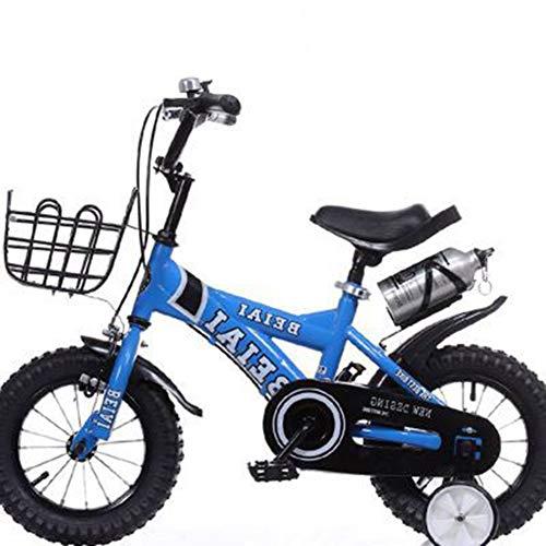 Thole Kinderfahrrad 12 Zoll 14 Zoll 16 Zoll 20 Zoll Pedal Kinder Dreirad Spielzeug,Blue,12 - Für Räder Roller Roller Royal