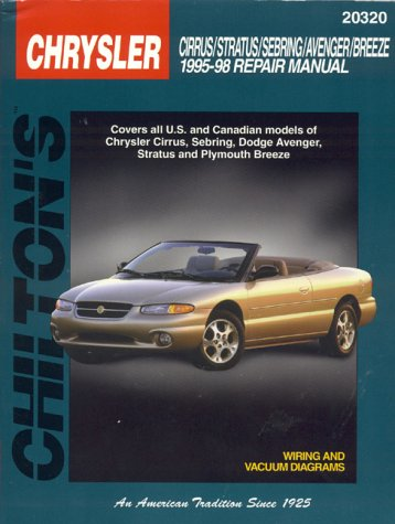 chiltons-chrysler-cirrus-stratus-sebring-avenger-breeze-1995-98-repair-manual