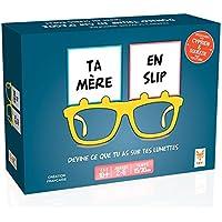 Topi Games - Jeux de Société - Ta Mère en Slip, 439001, Bleu