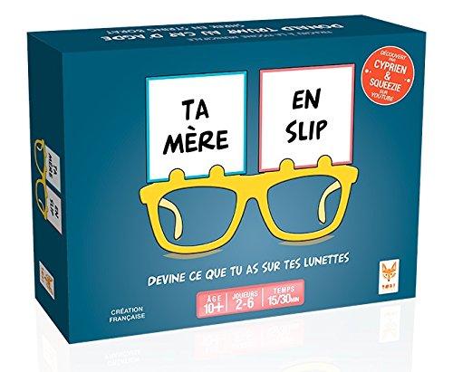 Topi Games Jeux de Société-Ta Mère en Slip, 439001, Bleu