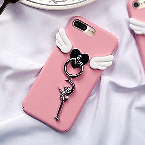 Hülle für iPhone 7 plus , Schutzhülle Für iPhone 7 Plus 3D Wing und Star Magic Wand Schutzmaßnahmen zurück Fall Fall ,hülle für iPhone 7 plus , case for iphone 7 plus ( SKU : Ip7p2664a ) Ip7p2664a