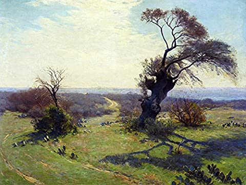 Das Museum Outlet–Morning In Spring, 1911–13, gespannte Leinwand Galerie verpackt. 96,5x 121,9cm