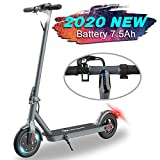 MARKBOARD Elektro Scooter, Elektroroller Faltbar City Roller Zusammenklappbarer Cityscooter für Erwachsene- 7,5Ah - LED-Scheinwerfer