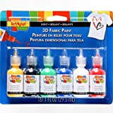 I Love To Create Scribbles 3D Fabric Paint 1 Oz acrilica, 6 kg, colore: