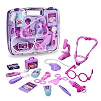 Arshiner Pretend & Play Doctor Set Medical Kit Packed in a Sturdy Gift Case