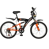 Hero Sprint Elite 20T 6 Speed Junior Cycle (Black/Orange)