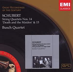 Schubert: String Quartets Nos.14 Death & the Maiden & 15