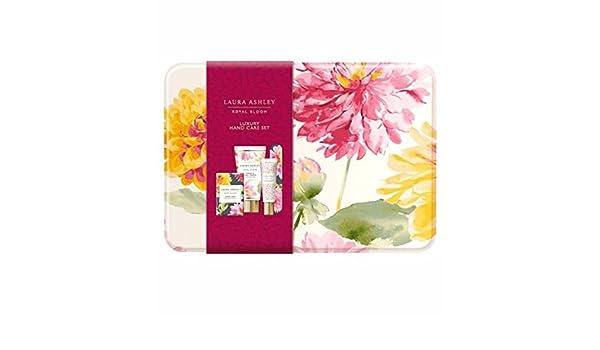 Laura Ashley Royal Bloom Hand and Nail Cream Trio Gift Set