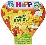 HiPP Kinder-Bio-Ravioli mit Tomaten-Gemüse-Sauce, 1er Pack (1x 250 g)