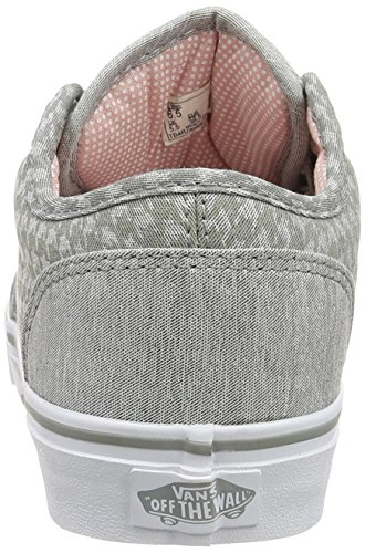 Vans  W Atwood Low,  Damen Sneaker Grey (Menswear - Midgray/White)
