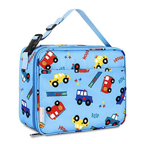 Bagmine Thermotasche, Lunchpaket für Kinder isolierte Wiederverwendbare Kühltasche Isolierbox Picknicktasche zur Aufbewahrung für Schule Picknick Reisen Arbeit Auto