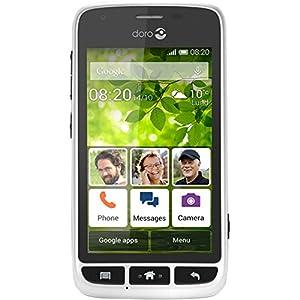 Doro Liberto 820 Mini SIM-Free Smartphone - White/Black