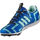 Adidas - Allroundstar j pointes - Chaussures à pointes d'athlétisme - Bleu moyen - Taille 38