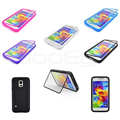 BooEy Touch Case Housse pour Samsung Galaxy Apple iphone Coque noir
