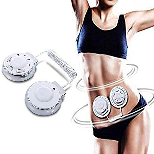 ieqer0 Elektronischer Puls Massager, Körperformung Apparat, TENS Einheit Muskel Stimulator, leistungsstarke elektrische Vibration Gewichtsverlust und Entspannung Sport-Massagegerät mit 6 Modi, Gesundheits-Therapie