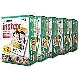 Fujifilm Film für die Instax Mini Sofortbildkamera 100 Fotos für Fuji 7s 8 25 50s 90 300 Instant Camera, Share SP-1