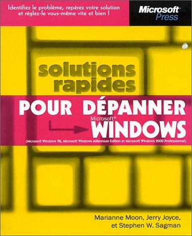 Solutions rapides pour dépanner Microsoft Windows