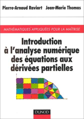 Introduction  l'analyse numrique des quations partielles