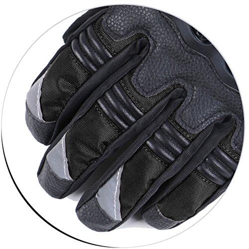 Madbike Motorrad-Handschuhe, wasserdicht mit Karbonfaserschutz - 6