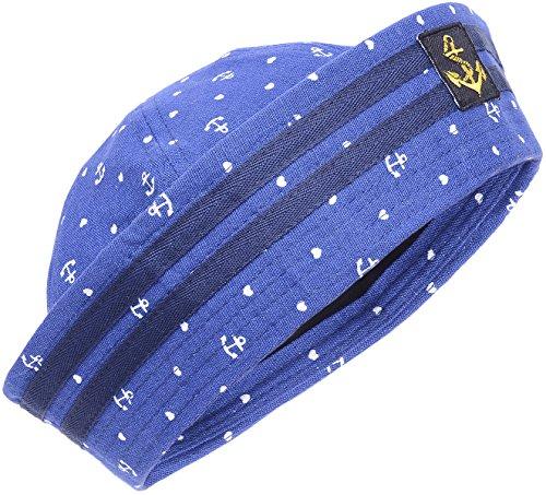 Anchor Heart SAILOR Uniform Pin Up MATROSEN Hütchen HUT (Für Matrosen Hut Frauen)