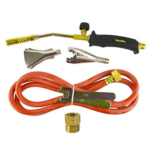 Soplete de gas Burner 2m de manguera techador fontanero Weed Kit regulador de propano