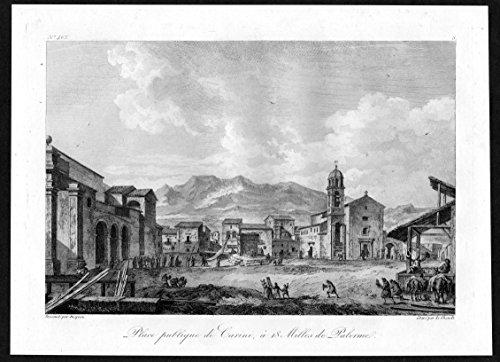 place-publique-de-carini-a-18-milles-de-palerme-carini-palermo-sicilia-italia-acquaforte-incisione-k