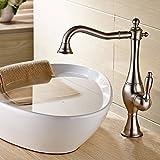 PENG Die Moderne Küche Badezimmer Voll Kupfer Edelstahl Waschbecken Schraubenschlüssel Glastisch Becken Tippen