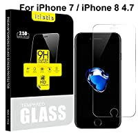 [2-Pack] iPhone 7 Screen Protector - iTieTie [Ultra Thin 0.26mm] Premium Tempered Glass Screen Protector, High Defintion (iPhone 7 4.7