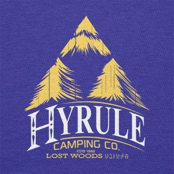 TEXLAB - Hyrule Camping Co - Herren T-Shirt Marine