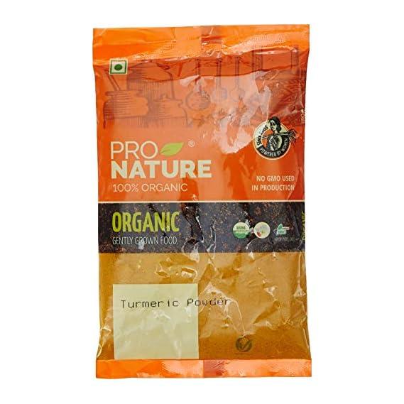 Pro Nature 100% Organic Turmeric Powder, 100g