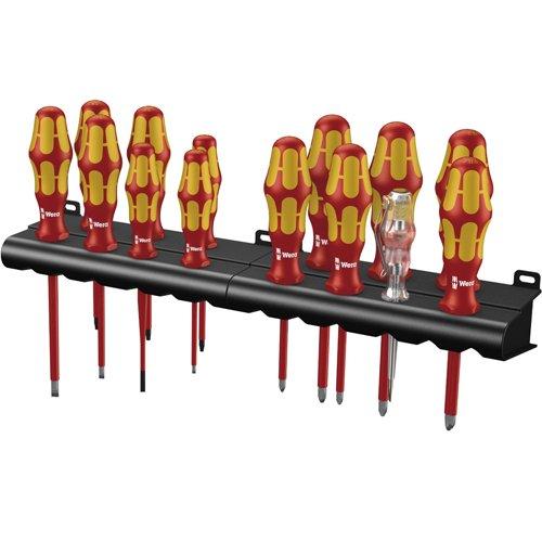 Wera Kraftform Big Pack 100 VDE 05105631001 14-teiliges Set Schraubendreher