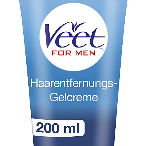 Veet - Gel Depilatorio, Per Uomo, Rapido ed Efficace - 200 ml