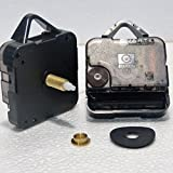 Ersatz-Uhrwerk, tickend, Quarz, zum Selbermachen, lang, 23,5mm Gesamtlänge der Spindel, Young Town 12888