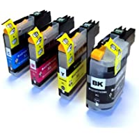LC123 Set of 4 High Capacity Compatible Ink Cartridges