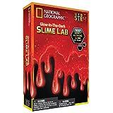 NATIONAL GEOGRAPHIC Slime DIY Science Lab – Make Glowing Slime (Red)