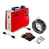 MSW- Drain Clean 2.3E - Máquina desatascadora de tuberías 390 W 400 RPM para Ø 30-100 mm - Envío Gratuito