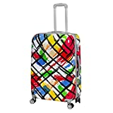GTC 100% Polycarbonate,360 Degree Rotating Wheels Beautiful Printed Pattern Suitcases & Trolley Bag
