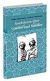 Anekdoten über Goethe und Schiller (wtv) - Andreas Siekmann, Volker Ebersbach