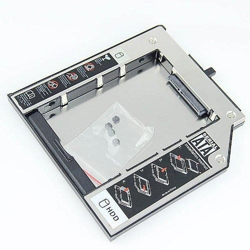 Preisvergleich Produktbild Kraus Tech®IBM LENOVO T400 9,5mm SATA Festplatten SSD/HDD Caddy Adapter für Thinkpad W500 t400 Lenovo Laptop T500