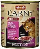 Animonda Katzenfutter Carny Adult Mix1 aus 3 Varietäten, 6er Pack (6 x 800 g)