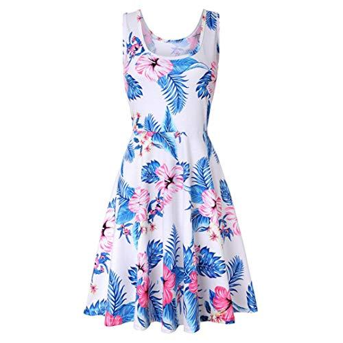 bdc7b76bc76c3c Yanhoo Damen Kleid Abend Kleid Schulterfreies Cocktailkleid Jerseykleid  Skaterkleid Frauen Sommer.