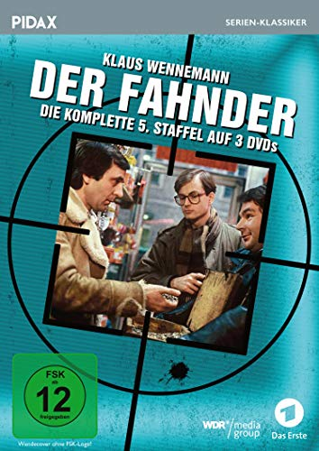 Der Fahnder, Staffel 5 / Weitere 9 Folgen der preisgekrönten Kult-Krimiserie (Pidax Serien-Klassiker) [3 DVDs]