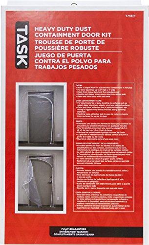 Aufgabe Tools t74517QSR Staub Eindämmung Tür KIT für Schnell Stützstäbe