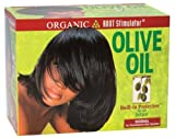 Relaxer / Glättungscreme Organic Root Stimulator Olive Oil Relaxer Kit Normal...