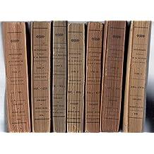 Dictionnaire Historique de la Médecine Ancienne et Moderne. 7 Volumes (Tomes Premier à Quatrième) -Ou précis de l'histoire générale, technologique et littéraire de la médecine, suivi de la bibliographie médicale du dix-neuvième siècle et d'un répertoire