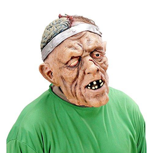 rrormaske hautfarben Zombiemaske Untoter Chirurg Halloween Grusel Maske Frankenstein (Frankenstein Halloween-maske)