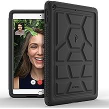 Poetic TurtleSkin iPad 9,7 Funda con Protección de Silicona de Alta Resistencia y Función de Amplificación de Sonido para Apple iPad 9,7 (lanzamiento de marzo de 2017) Negro